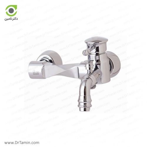 شیر حمام گلپایگان مدل آیسان <br> ( 180-2)