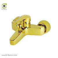 شیر دوش «حمام» ایزی پایپ <br> ( مدل جولیتا طلایی براق)