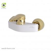 شیر آفتابه «توالت» ایزی پایپ مدل جولیتا طلا سفید <br> ( GIULIETTA BGI004)