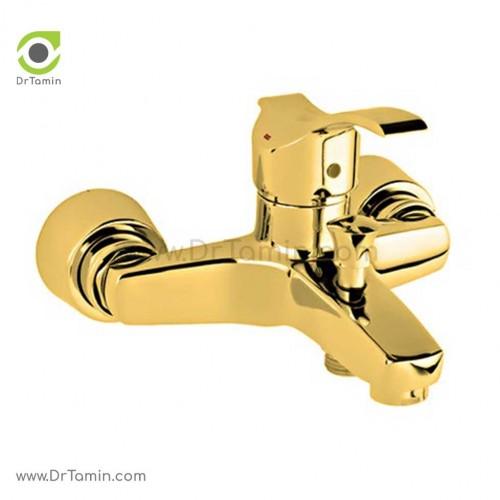 شیر دوش حمام قهرمان مدل آبشار رویال طلایی