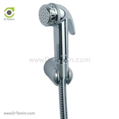 شلنگ توالت قهرمان مدل آلمانی با گوشی براکتی