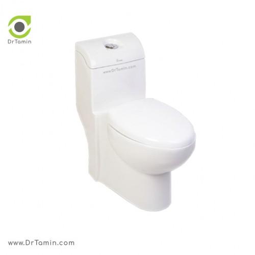 توالت فرنگی کرد مدل والریا بیده دار