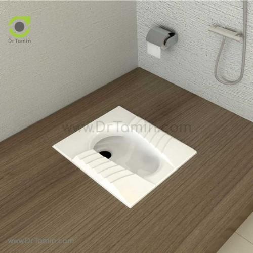 توالت زمینی چینی گلسار فارس مدل مارانتا