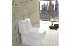 توالت فرنگی چینی گلسار فارس مدل پارامیس