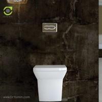 توالت فرنگی چینی گلسار فارس مدل وال هنگ گریس درجه 1