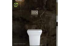 توالت فرنگی چینی گلسار فارس مدل وال هنگ گریس