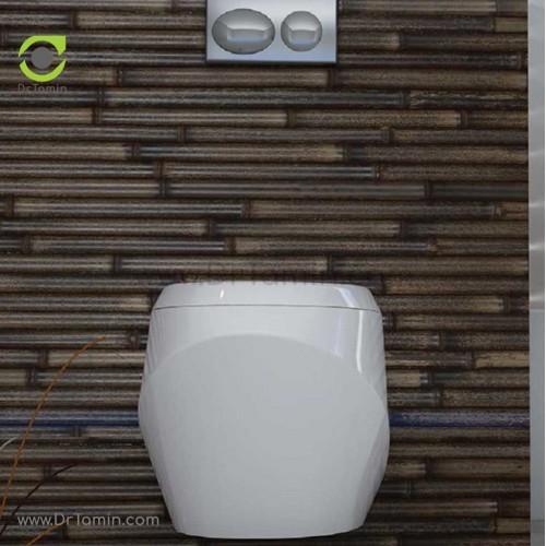 توالت فرنگی چینی گلسار فارس مدل وال هنگ اورینت