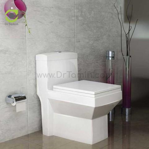 توالت فرنگی چینی گلسار فارس مدل آستر