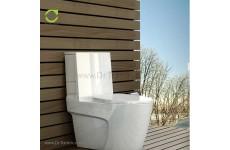 توالت فرنگی چینی گلسار فارس مدل پلاتوس