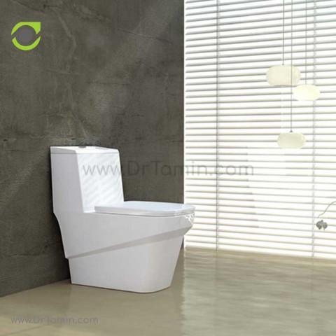 توالت فرنگی چینی گلسار فارس مدل یونیک درجه 1
