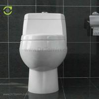توالت فرنگی چینی گلسار فارس مدل مارانتا درجه 1