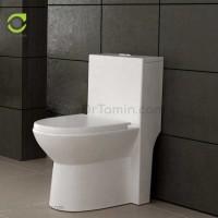 توالت فرنگی چینی گلسار فارس مدل لیونا درجه 1