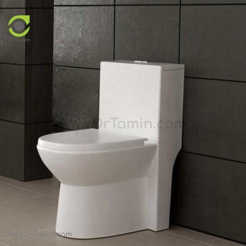 توالت فرنگی چینی گلسار فارس مدل لیونا