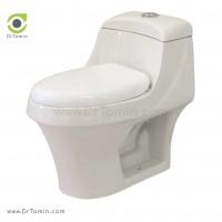 توالت فرنگی چینی رز مدل گلوریا درجه 1