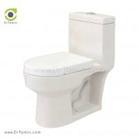 توالت فرنگی چینی رز مدل باران درجه 1