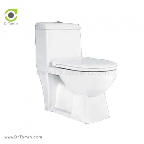 توالت فرنگی چینی رز مدل کلاسیک