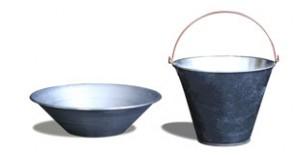 استامبولی، سطل و الک